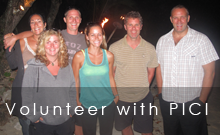 Volunteer with PICI